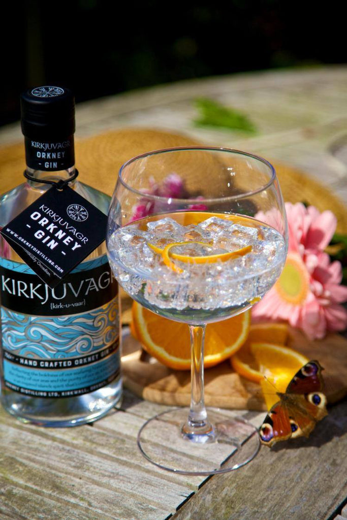 Find Kirkjuvagr Orkney Gin in the Co-op!