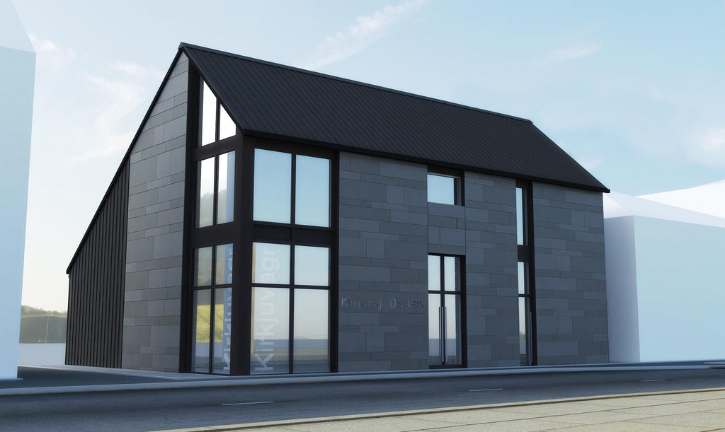 Work begins on the Orkney Distillery - home of Orkney Gin