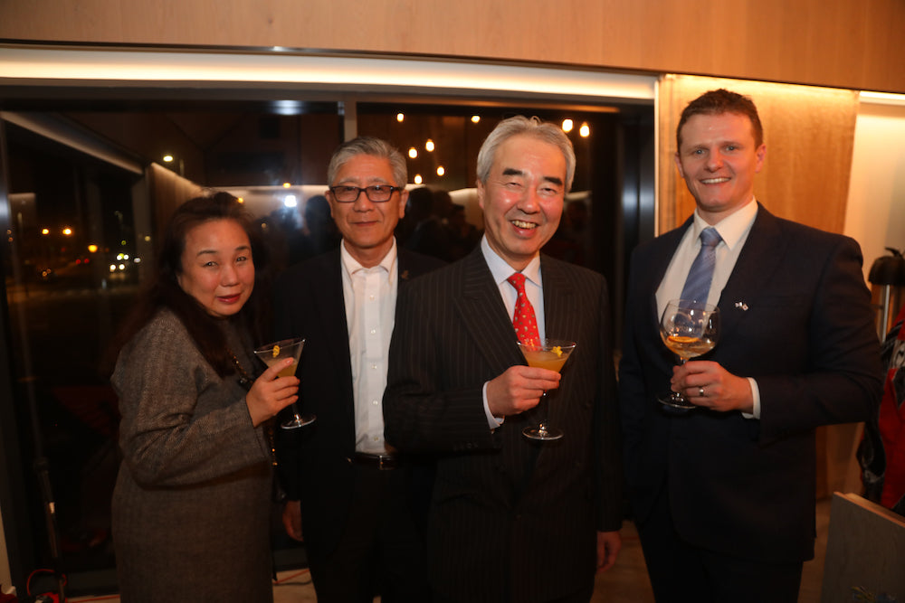 Raising a glass to stronger ties between Orkney and Japan