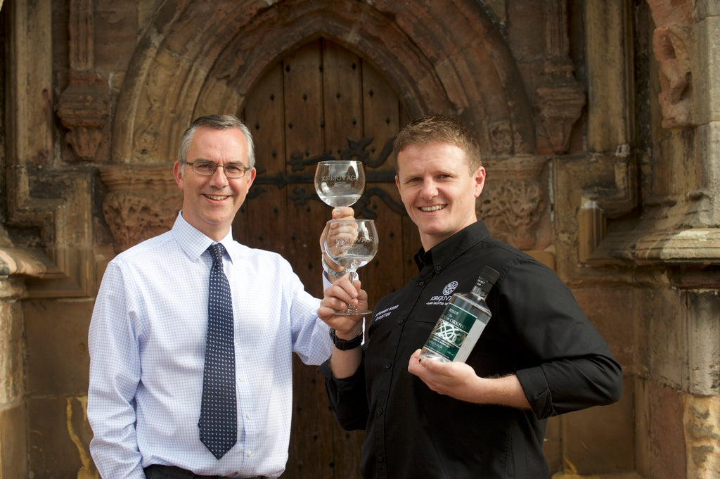 Gin partnership celebrates Rosslyn Chapel's Orkney connections