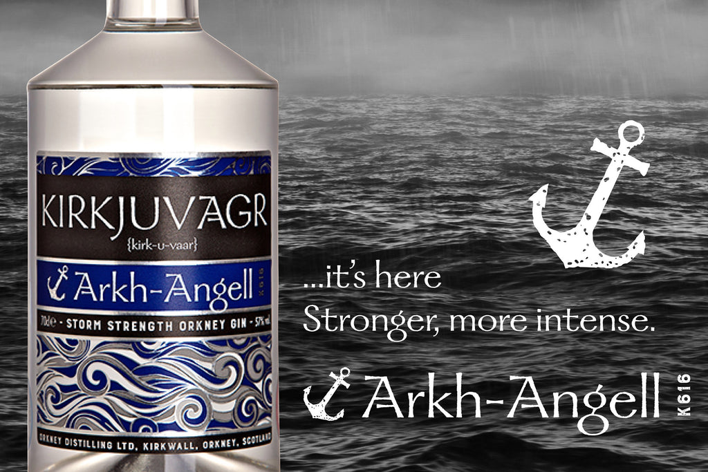 Arkh-Angell Storm Strength Orkney Gin is here!