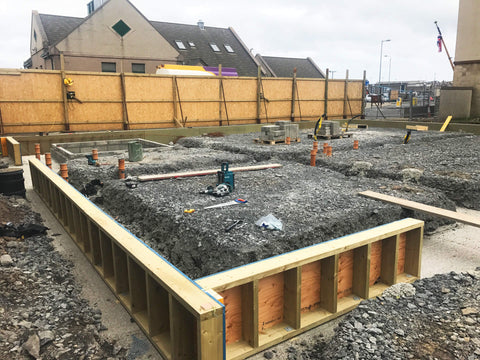 Laying the foundations for the Orkney Gin Distillery