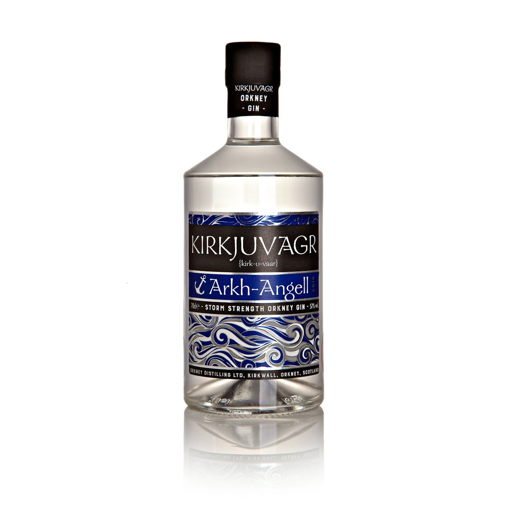Kirkjuvagr Arkh Angell Storm Strength Orkney Gin 70cl