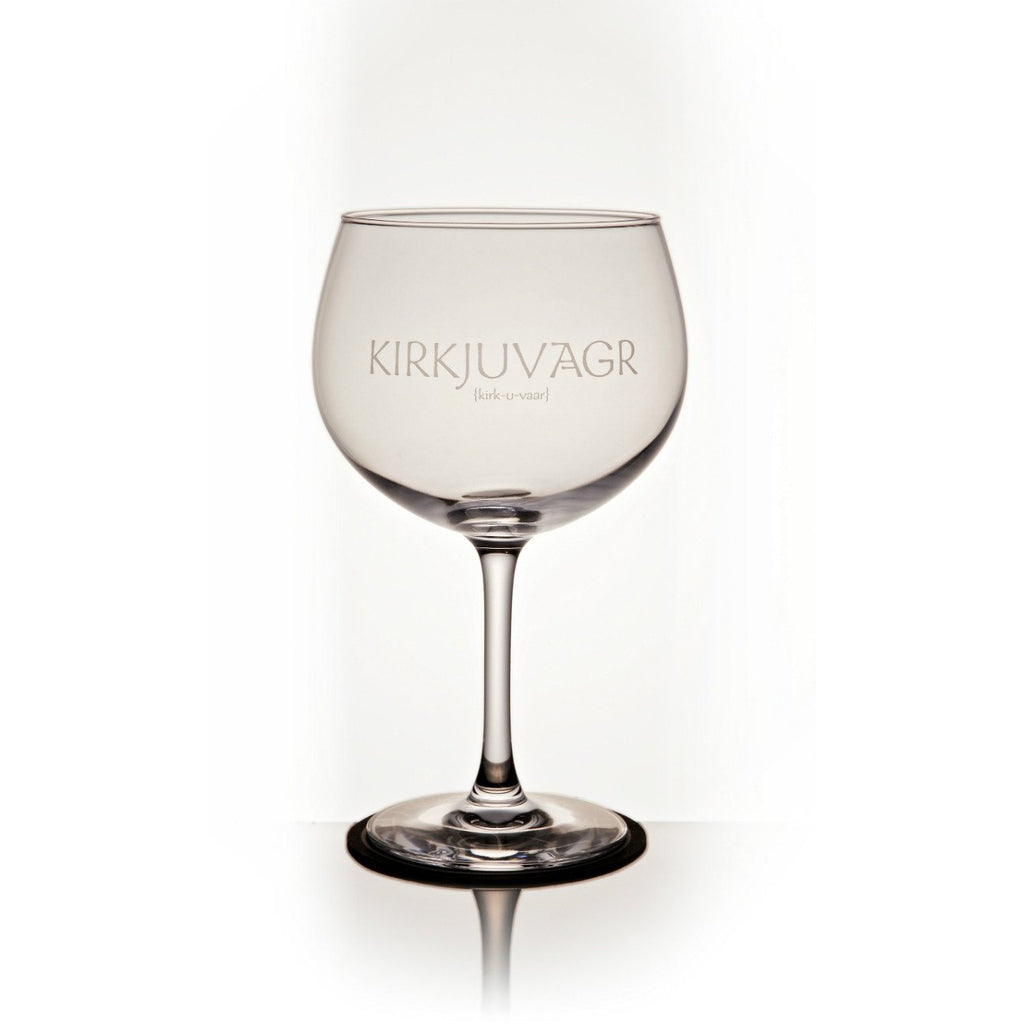 24oz Branded Gin Cocktail Glass