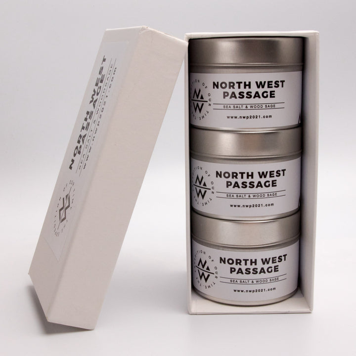 Northwest Passage Candle (Three Pack)