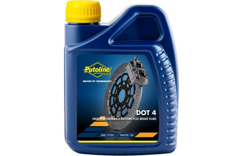 Putoline DOT 4 brake fluid 500ml