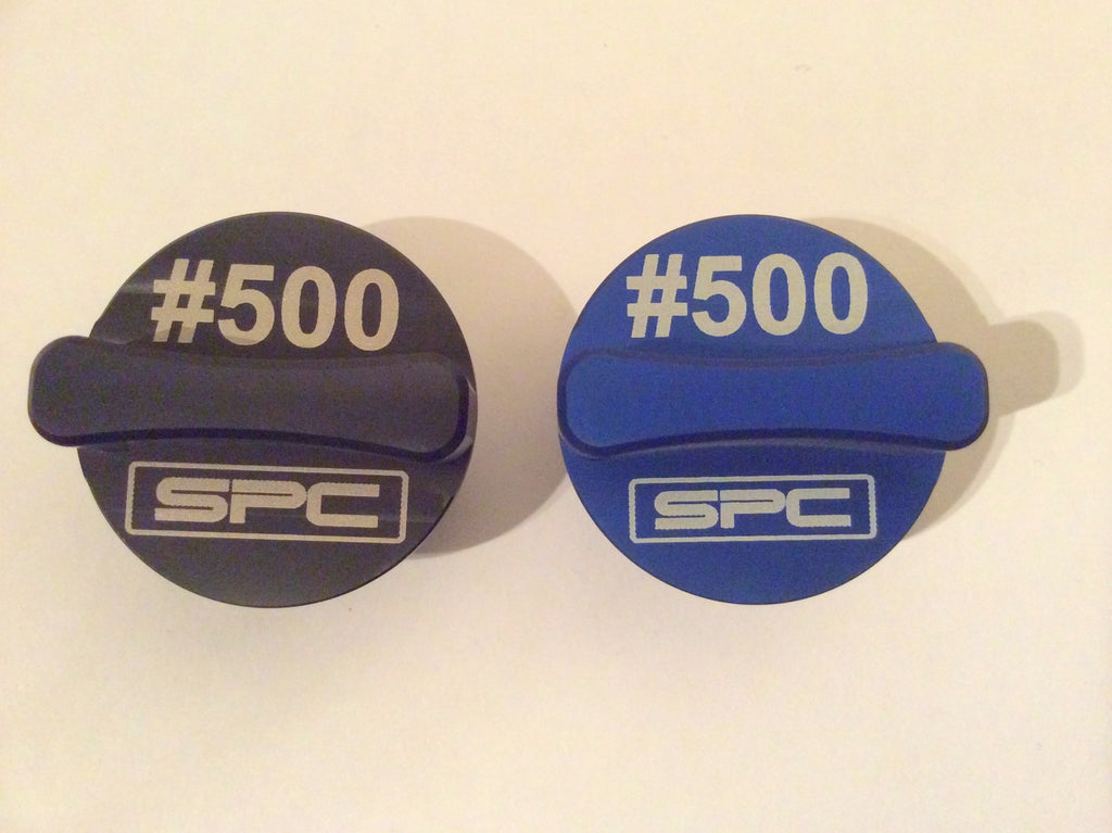 SPC Racing Components personalised oil filler cap for KTM SX range