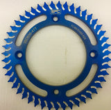 SPC KTM SX 65 Rear Sprocket 47T Blue