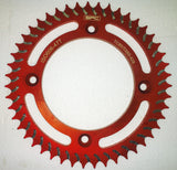 SPC KTM SX 50 Rear Sprocket 47T Gold