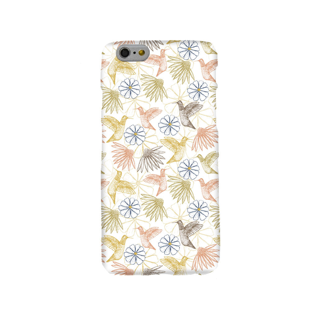 Hummingbird Garden Mobile Phone Case