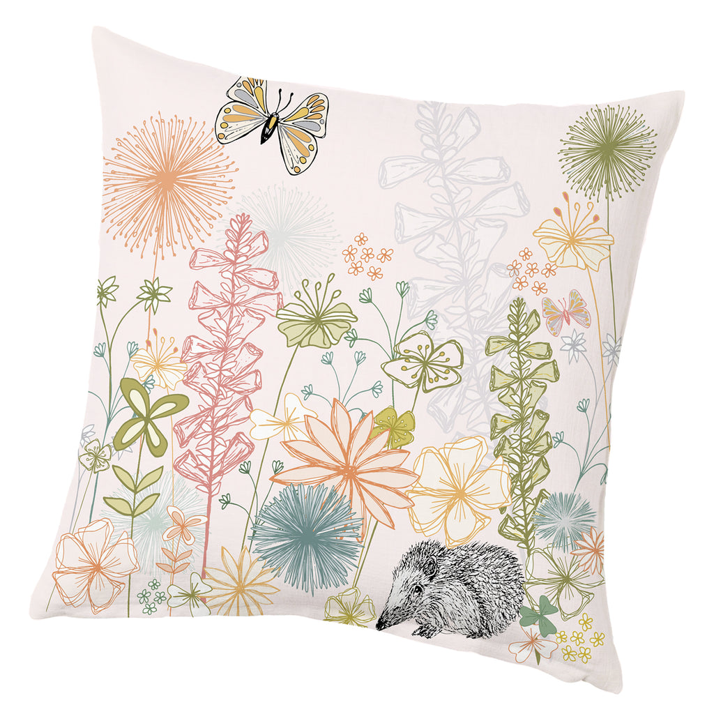 Light Pink - English Country Garden Cushion - 40cm