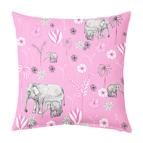Elephant Love Cushion - 40cm