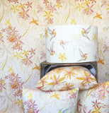 hummingbird collection fabric, lamp shade and cushions