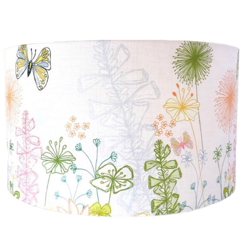 English Country Garden Lampshade - Pink