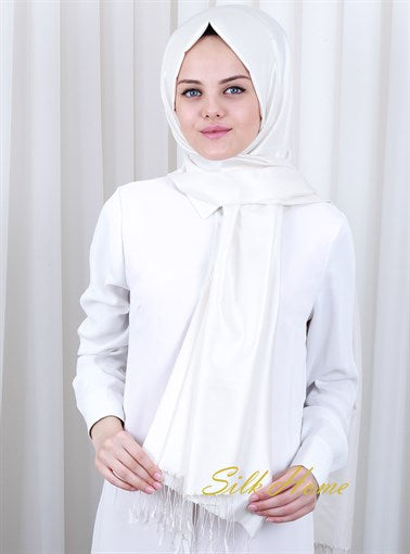 Silk Home : Pure and Modest Turkish Silk Shawl