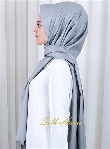 Silk Home : Sheer Elegance Formal Silk Shawl