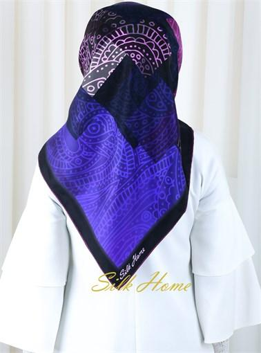 Silk Home :  Turkish Night Pure Silk Scarf