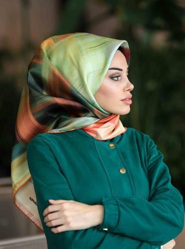 Silk Home : Color Me Bold Attractive Turkish Silk Scarf