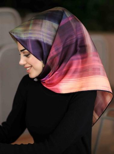 Silk Home : Color Me Bold Beautiful Silk Head Scarf Silk Home Silk Home