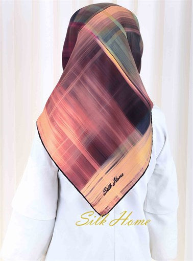 Silk Home : Color Me Bold Beautiful Silk Head Scarf