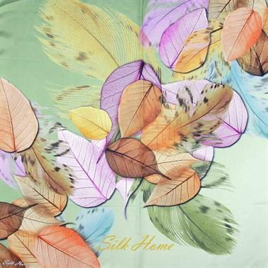 Silk Home : My Autumn Leaves Beautiful Head Cover Silk Home Silk Home