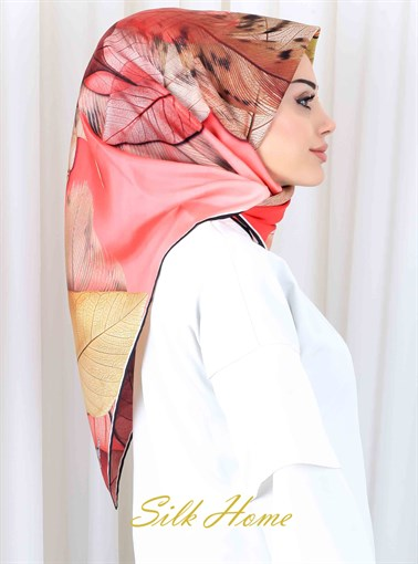 Silk Home :  My Autumn Leaves Beautiful Head Wrap