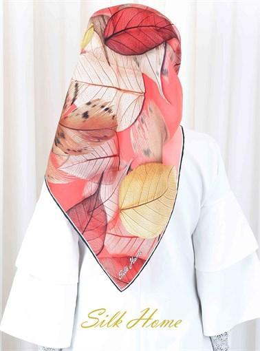 Silk Home : My Autumn Leaves Beautiful Head Wrap Silk Home Silk Home