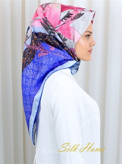 Silk Home : A Lovely Turkish Night Silk Hijab Scarf