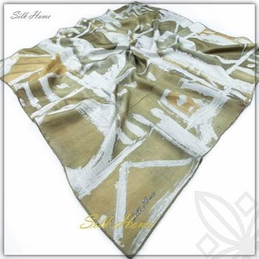 Silk Home : A Beautiful Day in the Field Fashionable Scarf Silk Home Silk Home