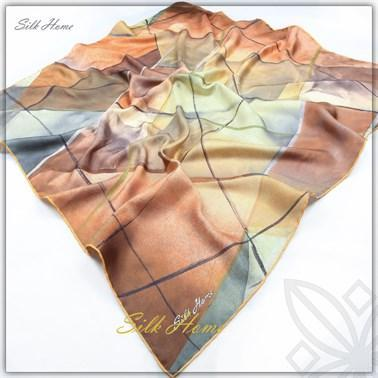 Silk Home : A Brand New Start Fancy Silk Scarf Silk Home Silk Home