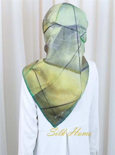 Silk Home : A Brand New Start Fancy Hijab Scarf