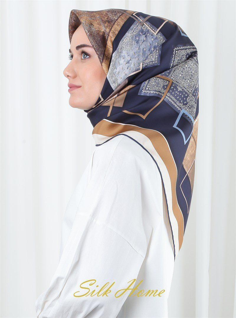Silk Home Sarah Women Silk Scarf Silk Hijabs Silk Home