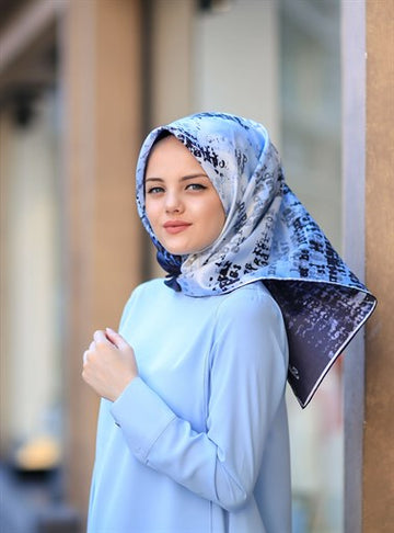 Silk Home :  A Turkish Pride Islamic Silk Hijab Scarf