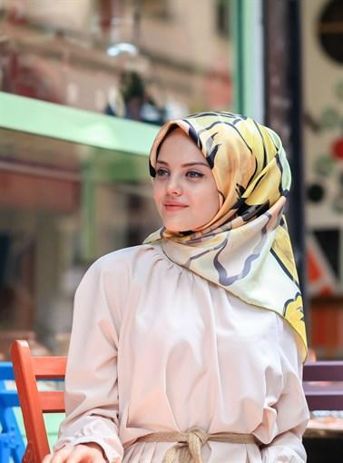 Silk Home :  A Modern Touch Turkish Silk Scarf