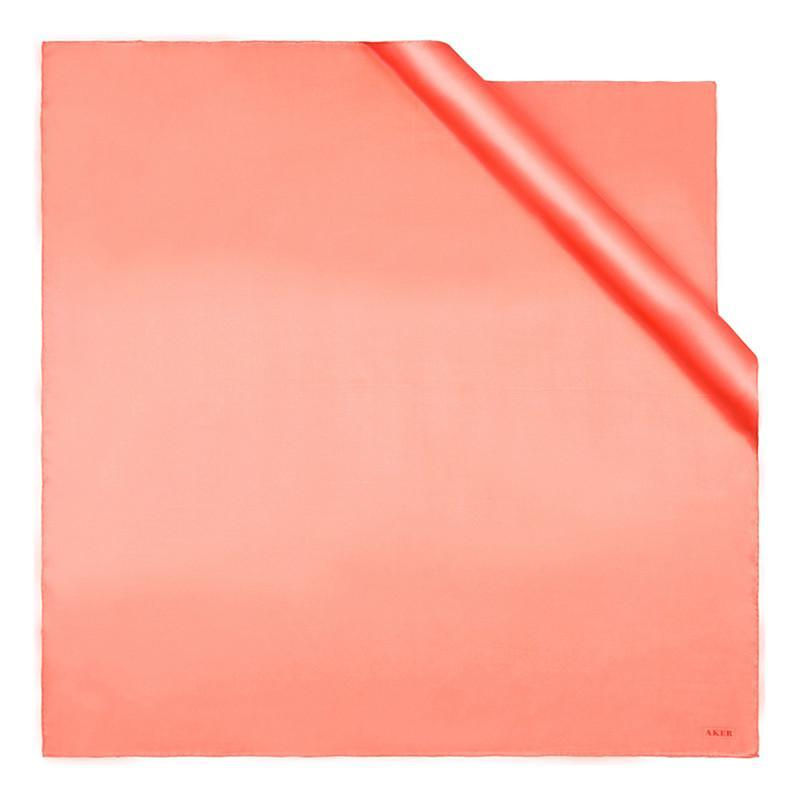 Aker Solid Color Peach Scarf Designed To Captivate Aker,Silk Scarves Aker