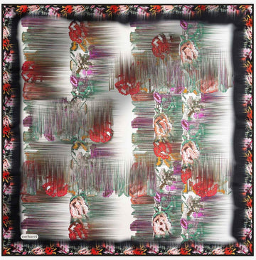 Cacharel Patsy Pure Silk Scarf No. 12 Silk Scarves Cacharel