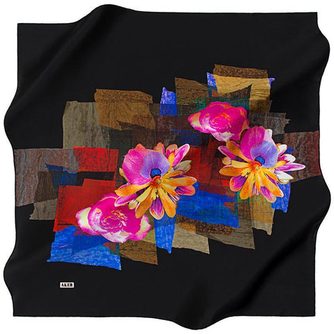 Aker Budapest Silk Scarf - Beautiful Hijab Styles