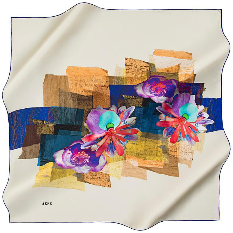 Aker Cairo Silk Scarf - Beautiful Hijab Styles