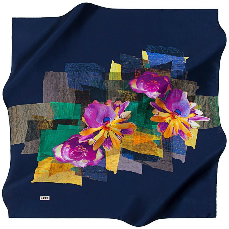 Aker Burst Out Onto The Scene With These Fashion Scarves Aker,Silk Scarves Aker