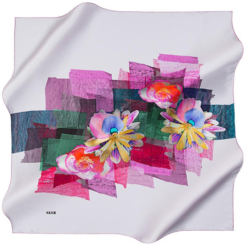 Aker Cairo Silk Scarf for Women Aker,Silk Scarves Aker