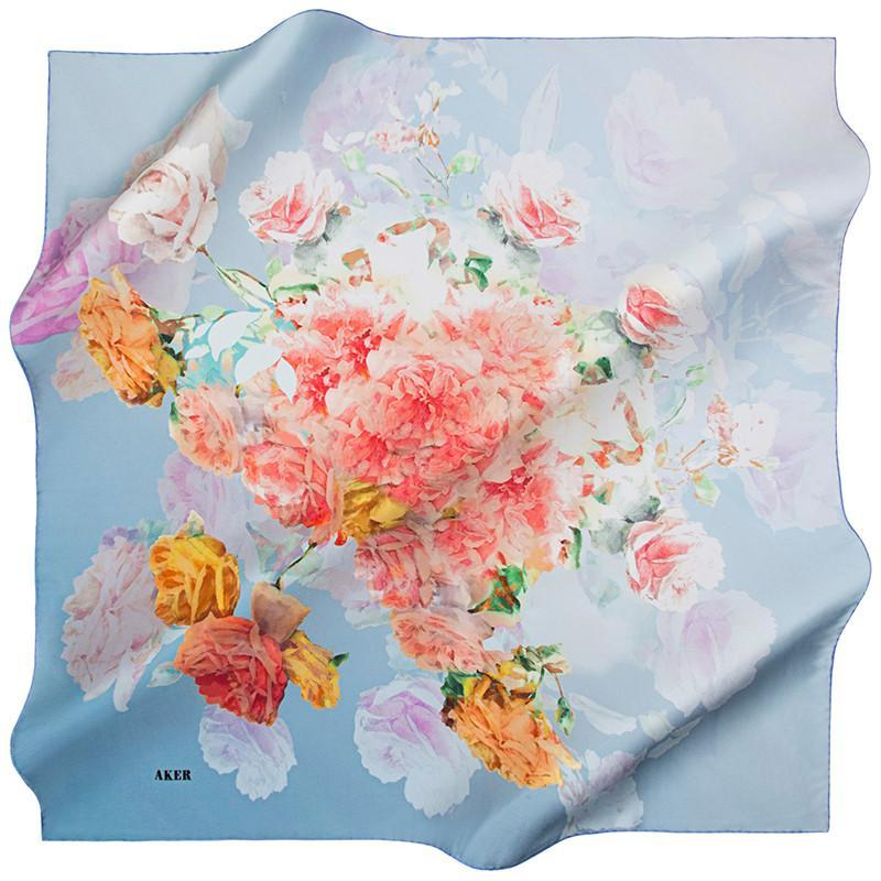 Aker Celebrate A Classic Twist On Elegance With This Silk Scarf Aker,Silk Scarves Aker