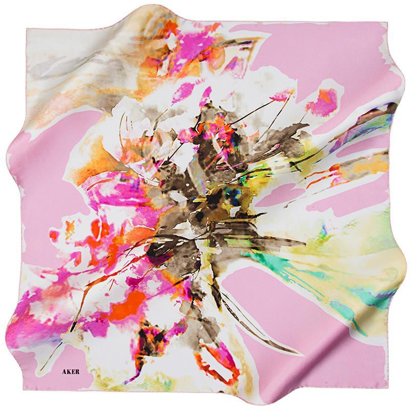 Aker Color & Gems & Design Oh My! The Must Have Silk Scarf - Beautiful Hijab Styles