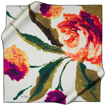 Pierre Cardin : Nancy Beautiful Silk Scarf Pierre Cardin,Silk Scarves Pierre Cardin