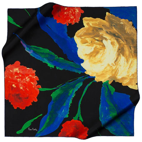 Pierre Cardin Agnia Silk Scarf - Beautiful Hijab Styles