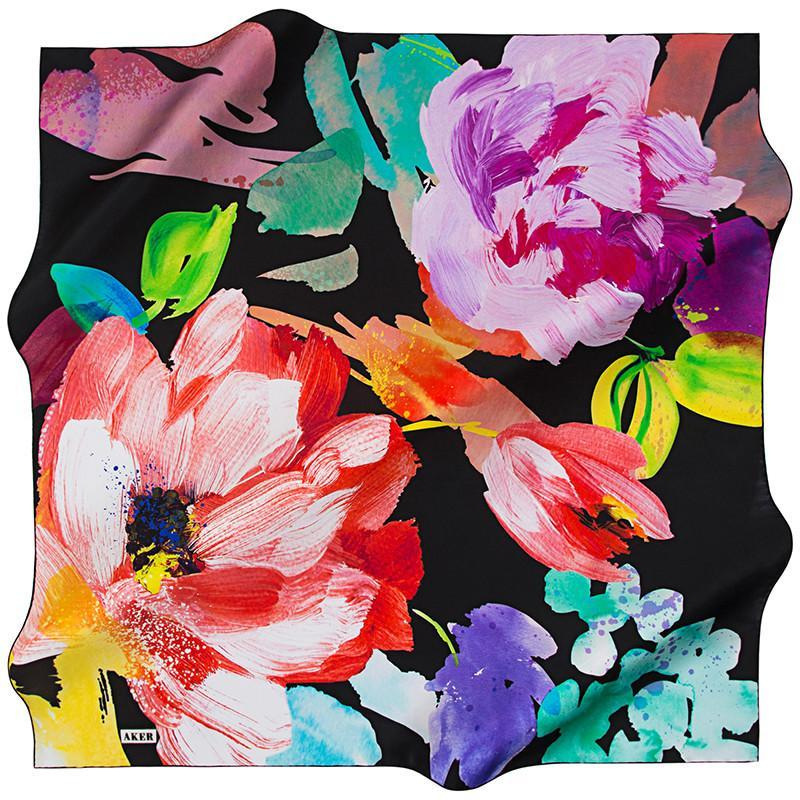 Aker Demi Square Silk Scarves
