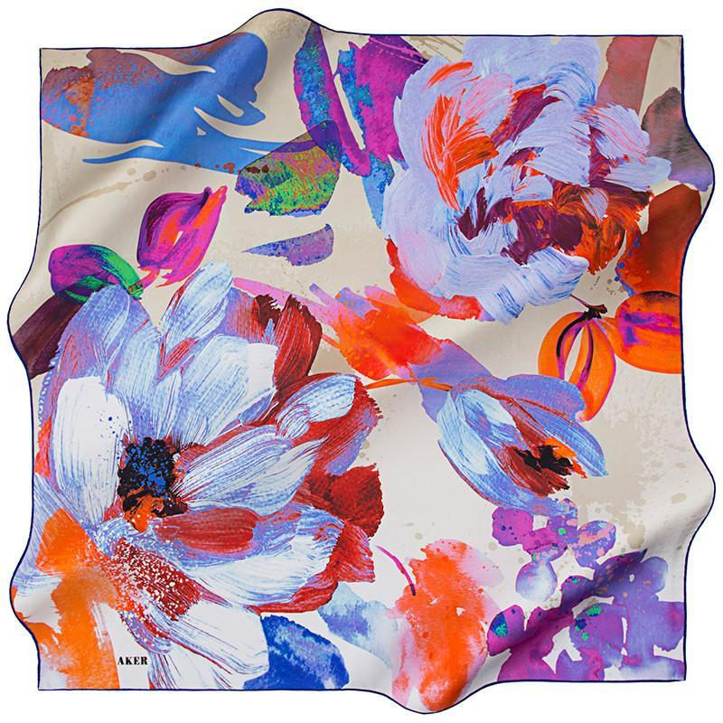 Aker Devasree Silk Scarf - Beautiful Hijab Styles