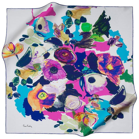 Pierre Cardin French Designed Beautiful Silk Scarf - Beautiful Hijab Styles