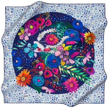 Aker Elspeth Beautiful Silk Scarf Aker,Silk Scarves Aker