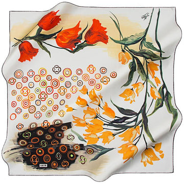 Aker Experience A Vortex Of Vivacious Fashion On These Silk Scarves Aker,Silk Scarves Aker