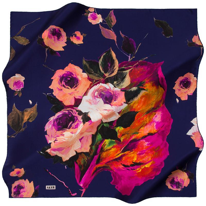 Aker Ivanna Silk Fashion Scarves: Designer Silk Scarves for Any Occasion - Beautiful Hijab Styles